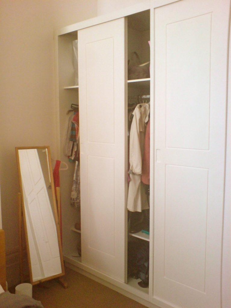 Painting melamine wardrobes how to paint mdf laminate