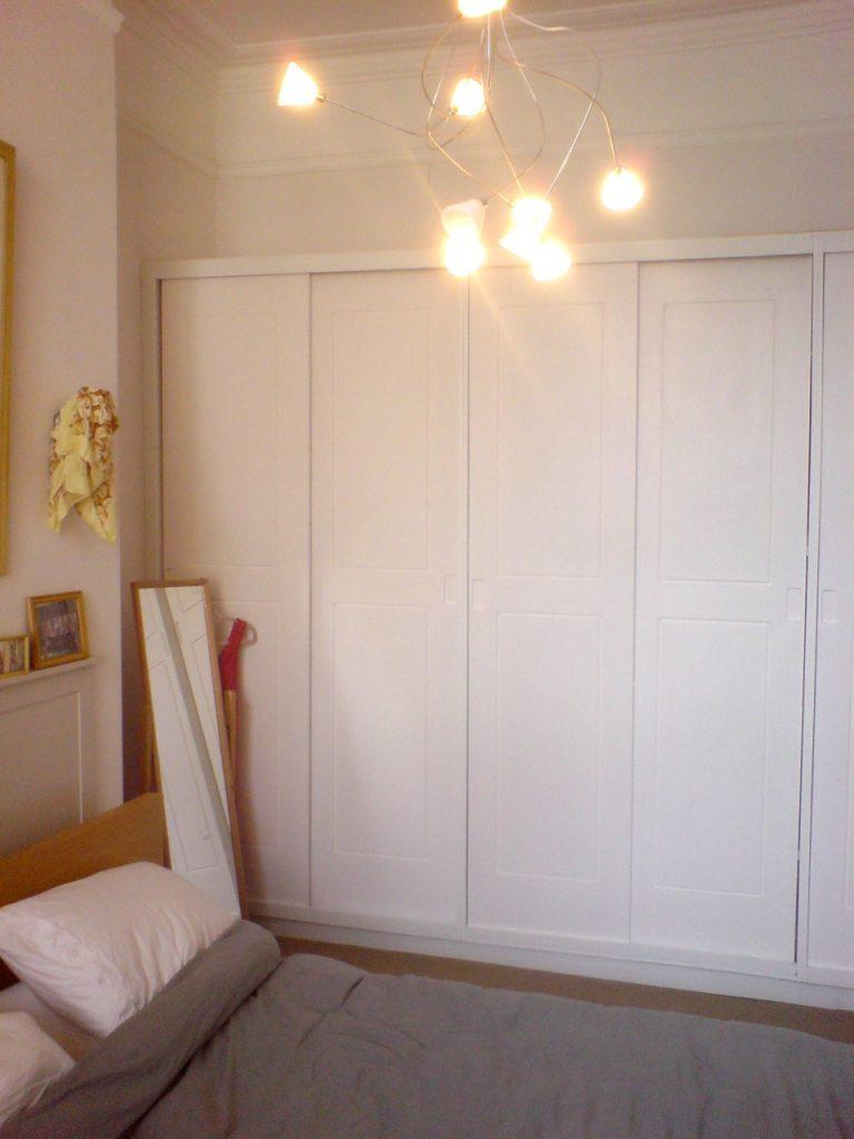 Sliding Wardrobe Doors White