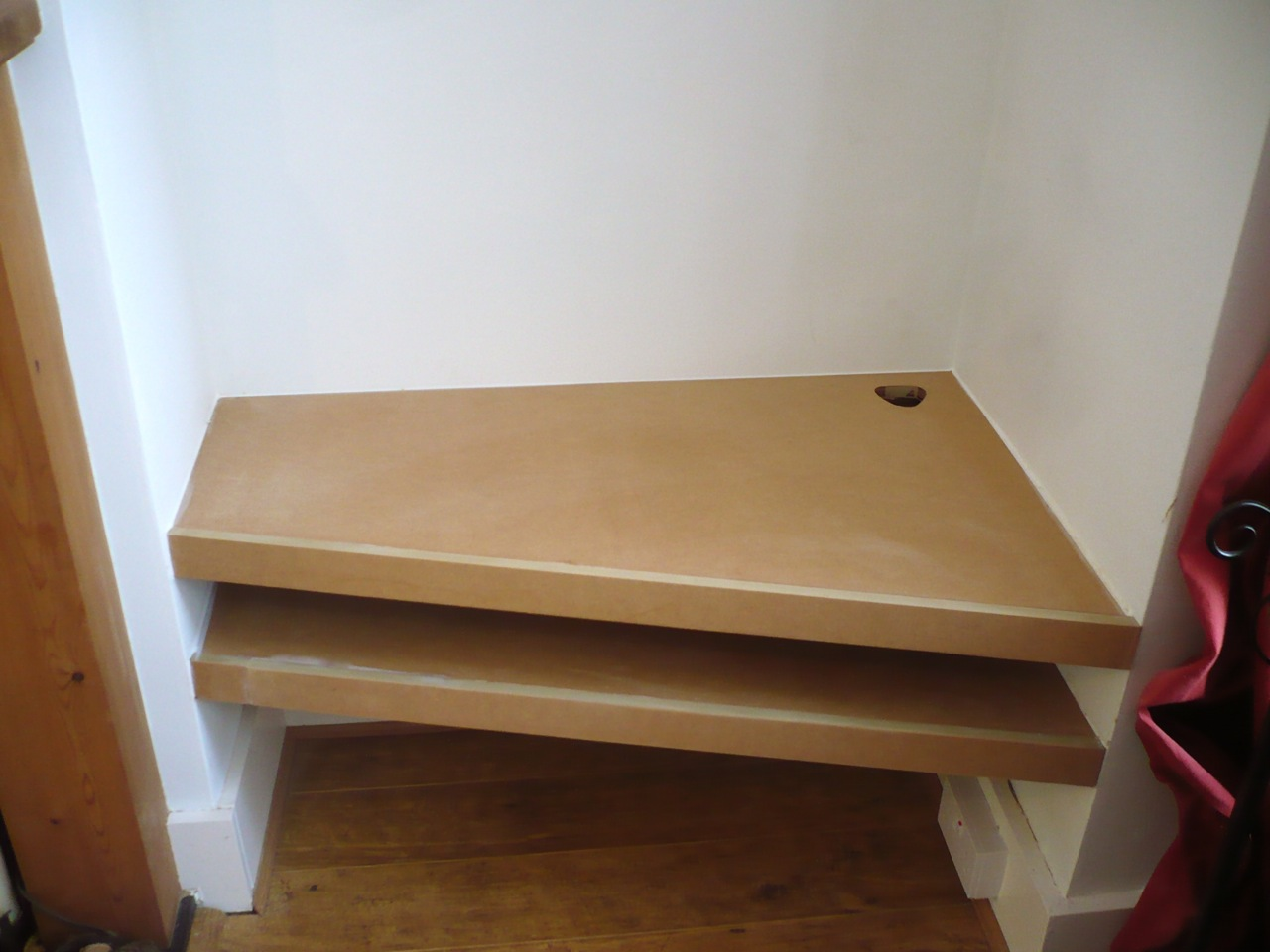 Simple Alcove Shelves 187 Richard Sothcott Brighton Carpentry