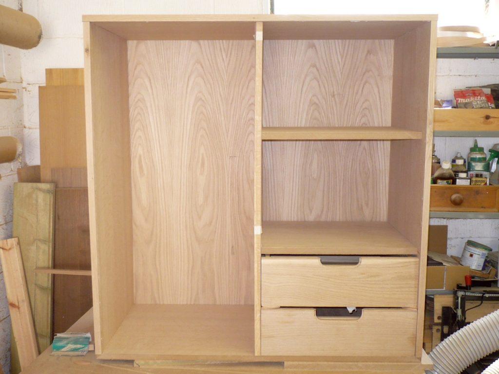 Cherry Shelving Unit Amp Oak Cabinet Richard Sothcott